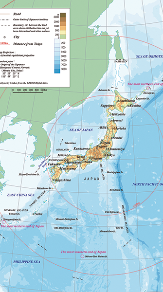 JICC Japan Information - Japan map facts