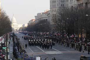 (photo) presidential inaugural parade