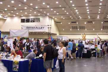 (photo)Artists' alley at Katsucon
