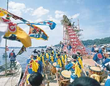 (photo) Kesennuma port festival