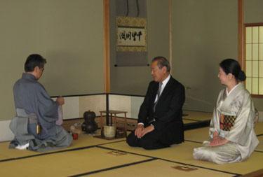 (photo) Grand Master Soujitsu Kobori, Ambassador and Mrs. Fujisaki