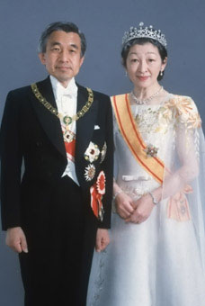 (photo) The Emperor and Empress of Japan